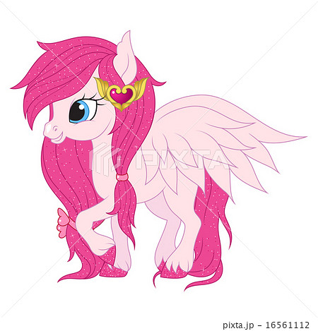 Pink Pegasus Illustrationのイラスト素材 16561112 Pixta