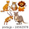 肉食動物 肉食獣 動物のイラスト 16562978