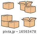 ベクター 梱包 ダンボール箱のイラスト 16563478