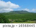 三原山 火山 山の写真 16568445