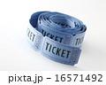 青色のパーティーチケット 16571492