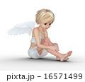 翼 子供 エンジェルのイラスト 16571499