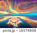 フラクタル 神秘的 謎のイラスト 16574608