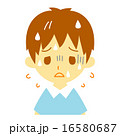 熱中症 脱水症状 病気のイラスト 16580687