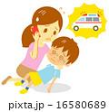 救急車 子供 16580689