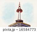 京都タワー イラスト 16584773