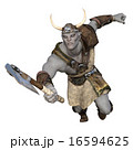 モンスター 斧 怪物のイラスト 16594625