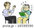 英会話 困る 生徒のイラスト 16599590