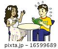 英会話 困る 生徒のイラスト 16599689
