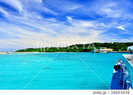 沖縄の離島 鳩間島の風景写真 16603036