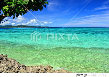 沖縄の離島 鳩間島の風景写真 16603039