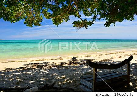 沖縄の離島 鳩間島の風景写真 16603046