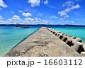 離島 鳩間島 沖縄の写真 16603112