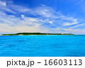 離島 鳩間島 海の写真 16603113
