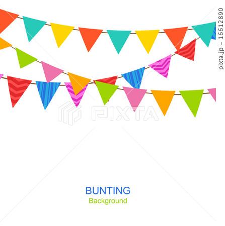 Set Bunting Pennantsのイラスト素材 [16612890] - PIXTA