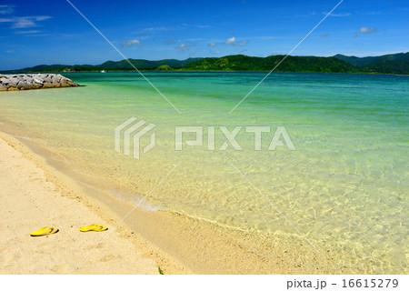 小浜島 細崎ビーチの風景写真 16615279