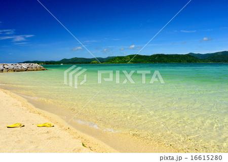 小浜島 細崎ビーチの風景写真 16615280