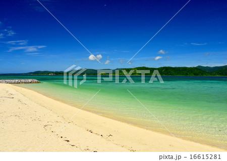 小浜島 細崎ビーチの風景写真 16615281