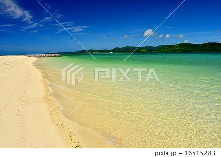 小浜島 細崎ビーチの風景写真 16615283