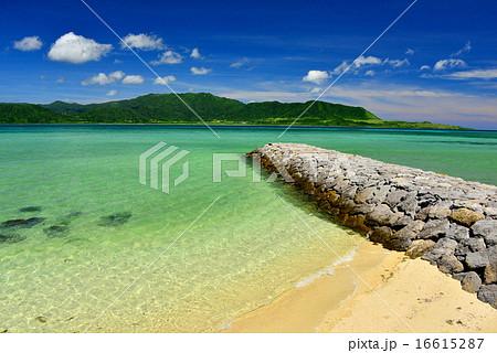 小浜島 細崎ビーチの風景写真 16615287