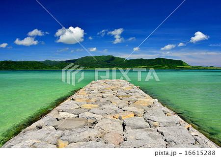 小浜島 細崎ビーチの風景写真 16615288