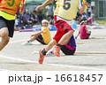 運動会イメージ(リレー) 16618457