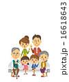 三世代家族【三頭身・シリーズ】 16618643
