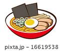麺類 中華そば ベクターのイラスト 16619538