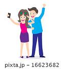スマホ スマートフォン 若いのイラスト 16623682