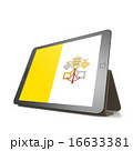 Tablet with Vatican City flag 16633381