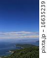 いろは丸衝突・沈没地点を沖合に望む三豊市荘内半島の先端「三崎」と備後灘にうかぶ「笠岡諸島、芸予諸島」 16635239