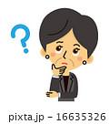 スーツ姿のミドル女性【三頭身・シリーズ】 16635326