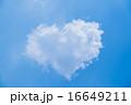 ハート型の雲 16649211