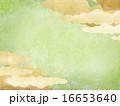 背景素材 和紙 和柄のイラスト 16653640