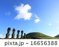 モアイ像 モアイ 遺跡の写真 16656388