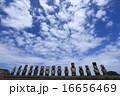モアイ像 モアイ 遺跡の写真 16656469