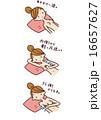チェック 乳房 検査のイラスト 16657627