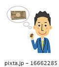 紙幣 ベクター 1万円札のイラスト 16662285