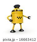 Robot taxi driver 16663412