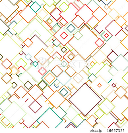 Abstract colored background square design vector for Architecture t square