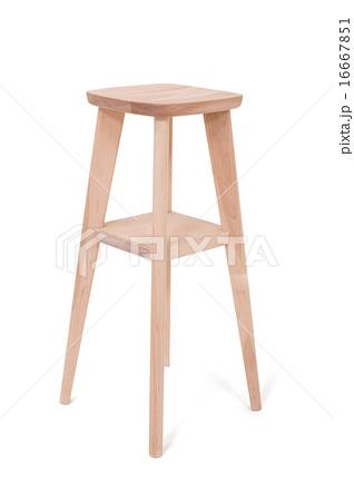 木製の椅子の写真素材 [16667851] - PIXTA
