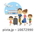 ファミリーで旅行【三頭身・シリーズ】 16672990