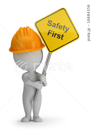 3d small people - safety first 16684356