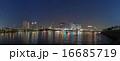 都市風景 夜景 東京湾の写真 16685719