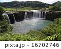 水流 原尻の滝 東洋のナイアガラの写真 16702746