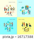 Friendship Icons Set  16717388