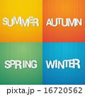 冬 春 泉のイラスト 16720562