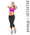 エクササイズ 女性 メスの写真 16734758