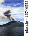 平成27年6月 海潟漁港から見た桜島の爆発的噴火 16740552