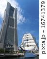 帆船 日本丸 総帆展帆の写真 16741379